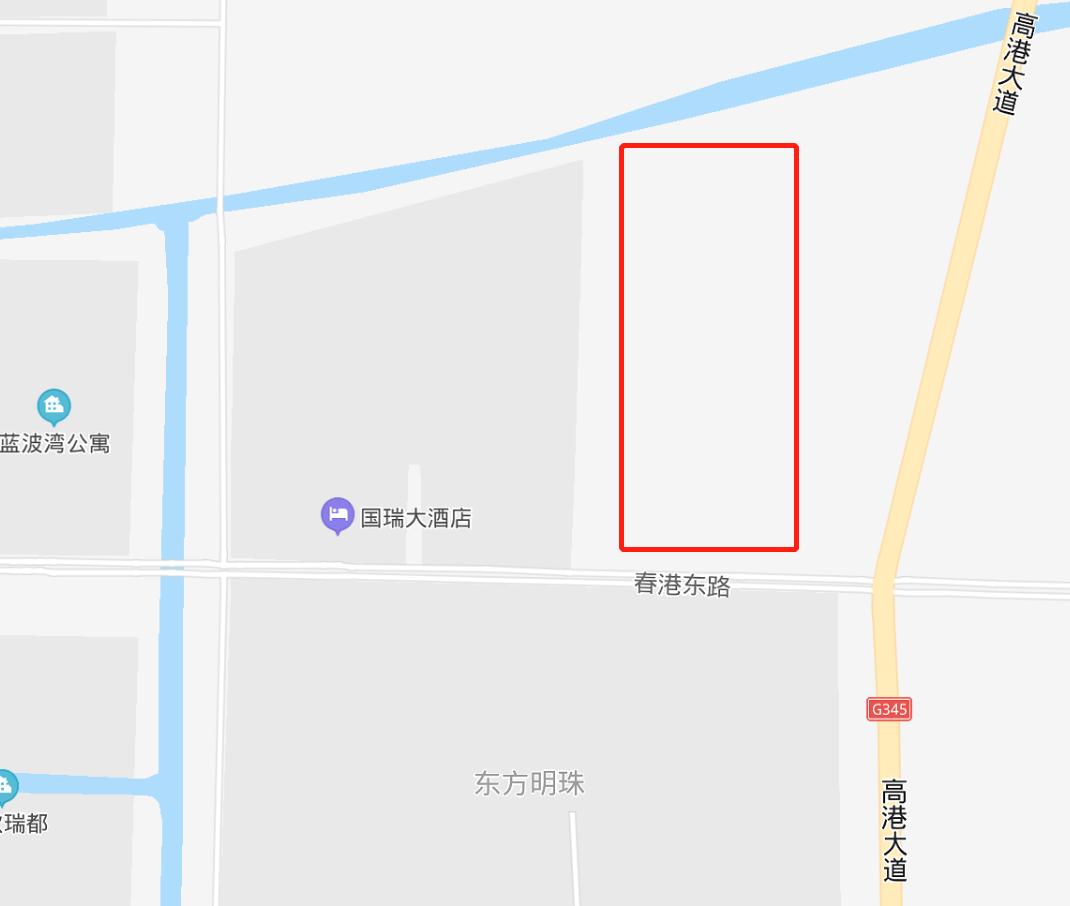 高港实验小学东校区地址确定:在天逸名邸东边高港大道西边