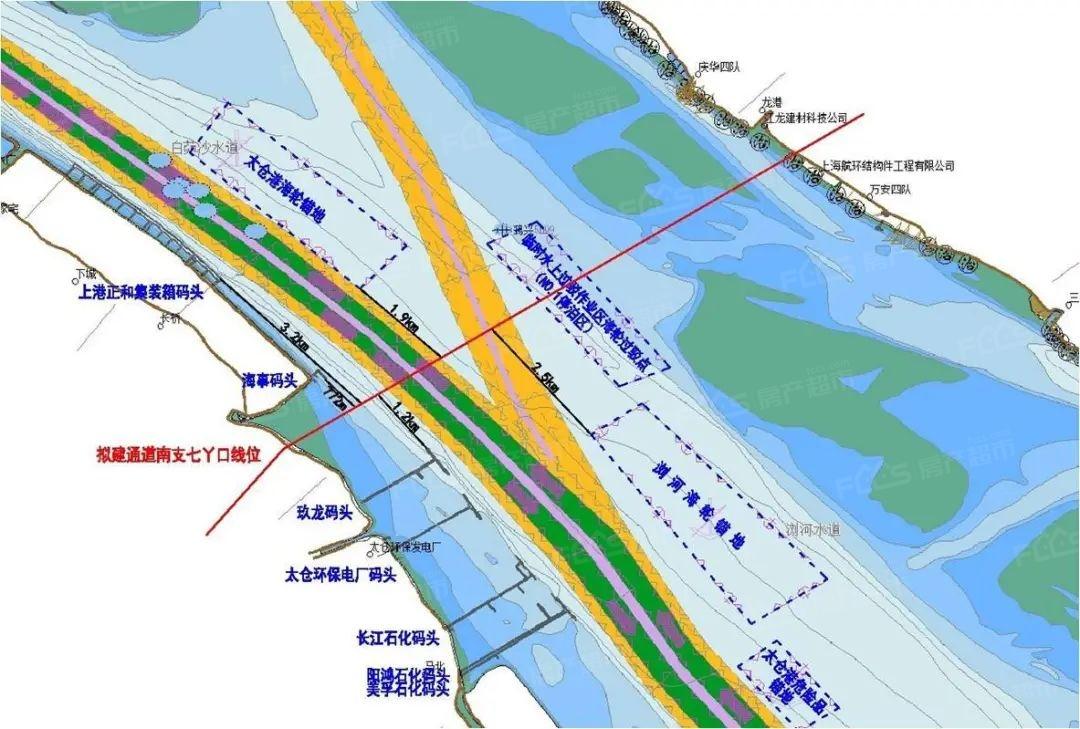 北沿江高铁重要进展:过江隧道地质勘察本月动工!