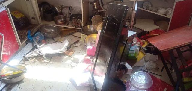 泰州一民宅发生莫名爆炸,油烟机炸飞,女主人侥幸逃过一劫